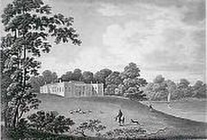 Marbury Hall, Anderton with Marbury - Marbury Hall c. 1819