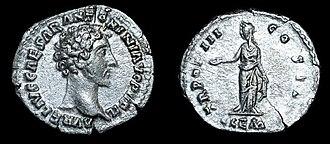 Reka Devnia Hoard - Image: Marcus Aurelius CLE Mresize