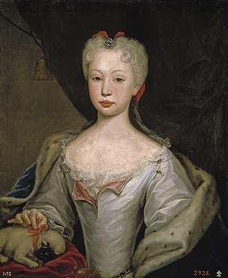Barbara of Portugal - Barbara in her younger years. By Domenico Duprà