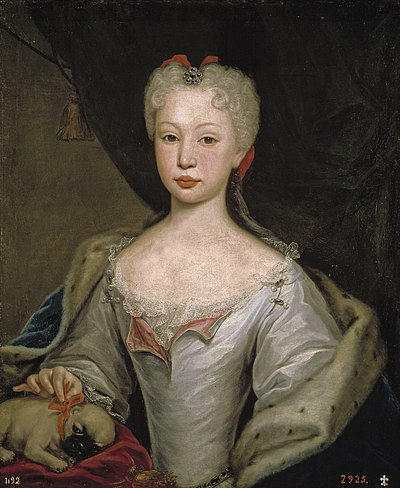Maria Magdalena Barbara de Braganza, Queen of Spain, wife of Ferdinand VI of Spain Maria Barbara de Braganza.jpg