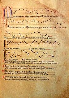 Llibre Vermell de Montserrat manuscript