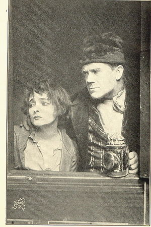 Lyn Harding - Harding with Marie Doro (left) in Oliver Twist at the New Amsterdam Theatre (1912)