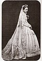 Marie Isabelle, Countess of Paris as a bride.jpg