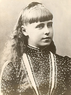 Marie of Romania - Princess Marie, photographed in 1888