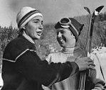 Marielle Goitschel and Jean Saubert 1964.jpg