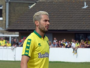 Mario Vrančić - Vrančić playing for Norwich City in 2017