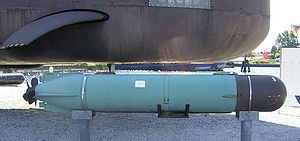 Mark 37 torpedo - Mark 37 torpedo at the German Marine Museum Wilhelmshaven