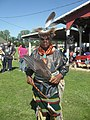 Mark Gould, chief of the Nanticoke Lenni-Lenape Tribal Nation, June 2016.jpg