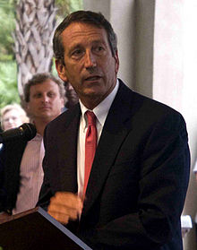 Mark Sanford en septembre 2010.