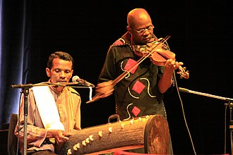 Marovany - Marovany and violin player