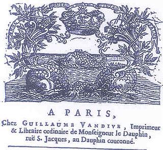 Guillaume Vandive French printer