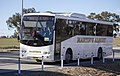 Martin's Albury (1899 MO) Volgren 'SC222' bodied Iveco Delta C260 on the Holbrook bypass.jpg