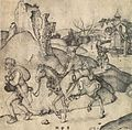 Martin Schongauer - Peasant Family Going to the Market - WGA21033.jpg