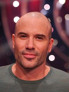Martin Stenmarck Swedish singer and voice actor
