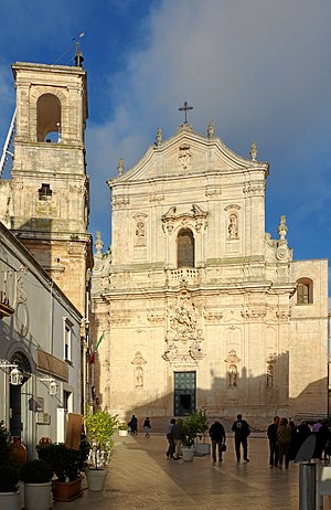 Martina Franca - Piazza Plebiscito and the Cathedral