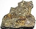 Massive Pt-Pd-rich sulfide (platinum-palladium ore) (Johns-Manville Reef, Stillwater Complex, Neoarchean, 2.71 Ga; Stillwater Mine, Beartooth Mountains, Montana, USA) 5.jpg