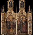 Master Of Pratovecchio - Pratovecchio Altarpiece (lateral panels) - WGA14474.jpg