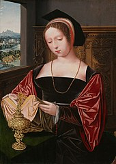 A Lady Reading as Mary Magdalene