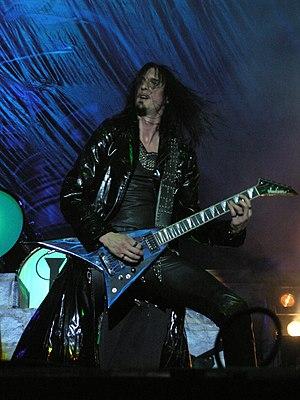 Oscar Dronjak - Oscar Dronjak during Hammerfall concert on Masters of Rock 2007 festival.