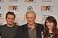 Matt Damon - Clint Eastwood - Bryce Dallas Howard - 2010 New York Film Festival.jpg