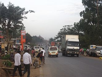 Wakiso District - Bombo road in Matugga - Mabanda (Wakiso District)