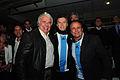 Mauricio Macri presenció el partido de la selección nacional de fútbol ante Paraguay junto a De la Sota y Del Sel (7973688314).jpg