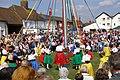 Maypole dancing at the Downton Cuckoo Fair - geograph.org.uk - 160418.jpg