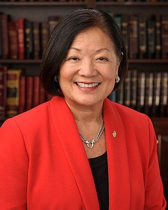 Politics of Hawaii - Image: Mazie Hirono, official portrait, 113th Congress