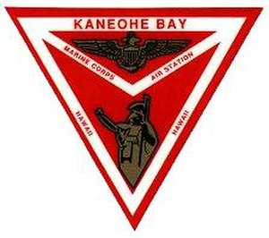 Marine Corps Base Hawaii - Old MCAS Kaneohe Bay insignia