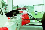 Mclaren at the 1994 British Grand Prix (32541324735).jpg