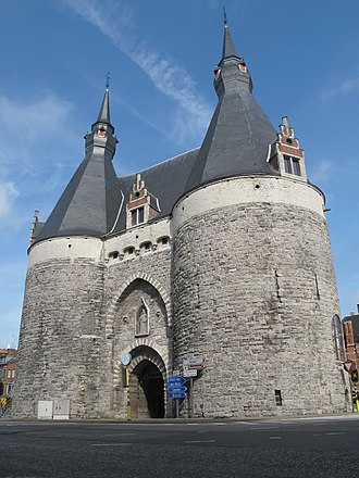 Mechelen - City gate: Brusselpoort