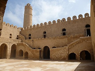 Ribat of Sousse - View from the courtyard