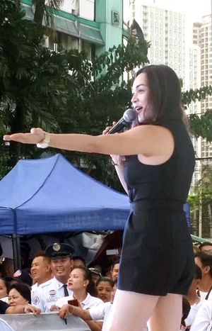 Meg Imperial - Meg Imperial performing at MMDA Anniversary in November 2016
