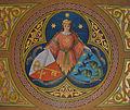 Mehrerau Collegiumskapelle Empore Malerei Wappen.jpg