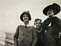 Melanie Klein, her daughter Melitta Schmideberg-Klein, and Wellcome L0029102.jpg