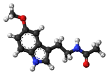 Struktura melatoninu