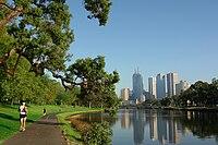 Melbourne skyline 2008