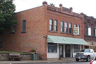 Mellen, Wisconsin - Image: Mellen Weekly Record Building