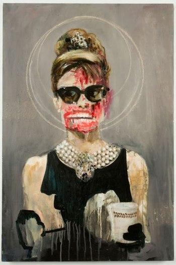 Hepburn by Dawn Mellor