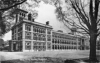 Netley Hospital - West Wing of the Royal Victoria Hospital