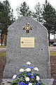 Memorial stone of Mannerheim cross holder Jaakko Kolppanen.jpg