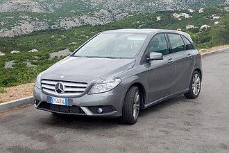 Mercedes-Benz B-Class - Pre-facelift
