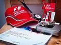 Merchandising Mclaren british GP 2010.jpg