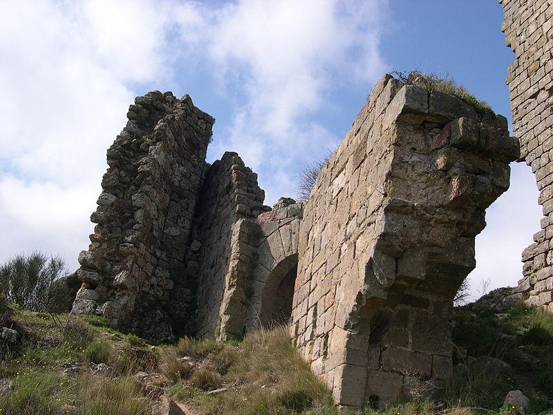 Mérifons - Château de Malavieille (détail)