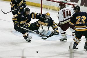 Merrimack Warriors - Merrimack vs Boston College (Andrew Braithwaite pictured)