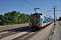 Metra Electric District Train No. 132 Approaches Ivanhoe (4761588265).jpg