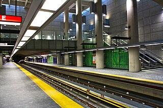 De La Concorde station Montreal Metro station