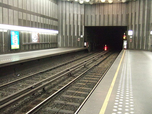 Comte de Flandre/Graaf van Vlaanderen metro station
