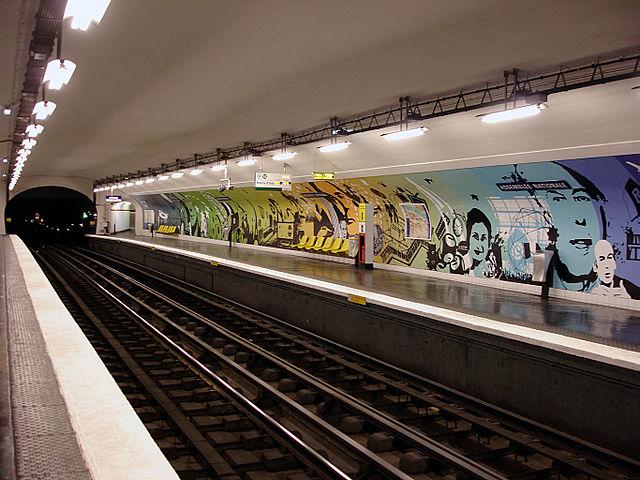 les stations les plus originales du m tro parisien en photos. Black Bedroom Furniture Sets. Home Design Ideas