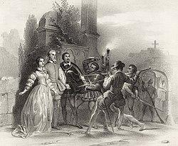 Les Huguenots, fünfter Akt, Szene 2
